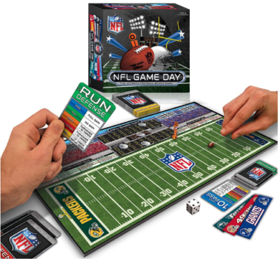 This is an image of boy's NFL board game