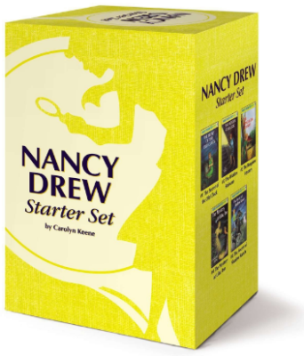 This is an image of girl's nancy drew starter set