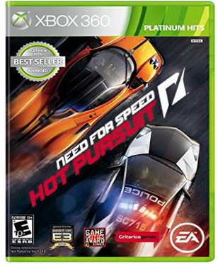 This is an image of kid's need for speed game for xbox 360
