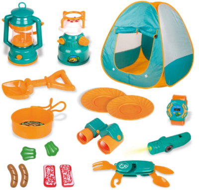 This is an image of boy's outdoor camping tools set