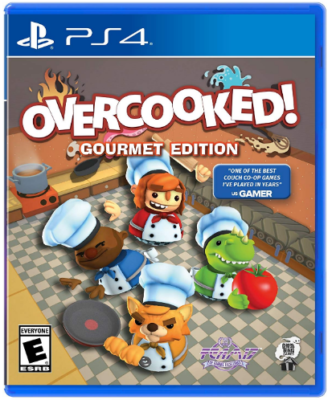 This is an image of kid's overcooked game for playstation 4