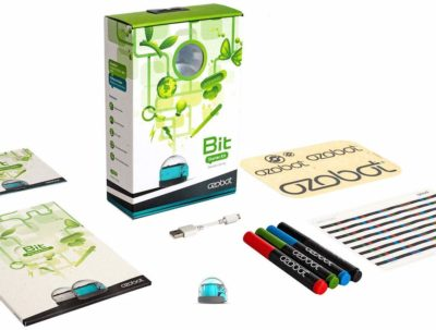 This is an image of a coding robot for kids by Ozobot.