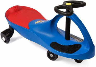 This is an image of a blue ride on toy by PlasmaCar.