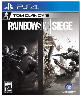 This is an image of boy's rainbow six siege game for playstation 4 console