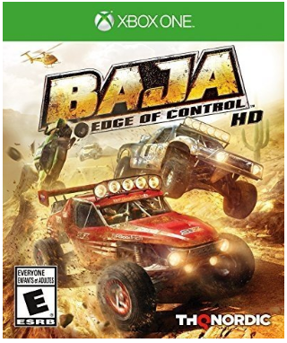 This is an image of kid's Raja edge of control car race game for xbox one