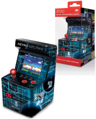 This is an image of kids retro arcade machine