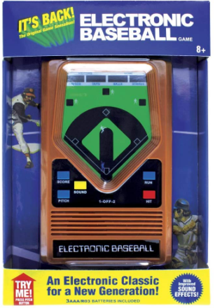 This is an image of kid's basball retro game