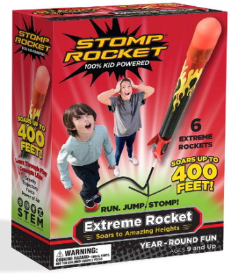 This is an image of boy's Rocket extreme game pack in colorful colors