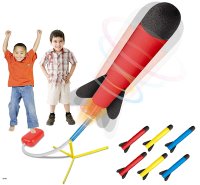 This is an image of boy's rocket launcher pack in multi colors