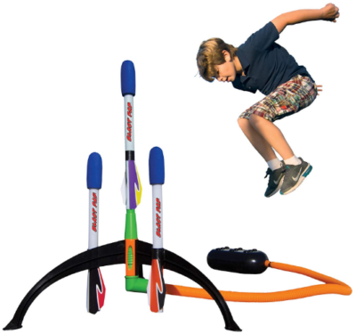 This is an image of boy's rocket lancher shoots pack