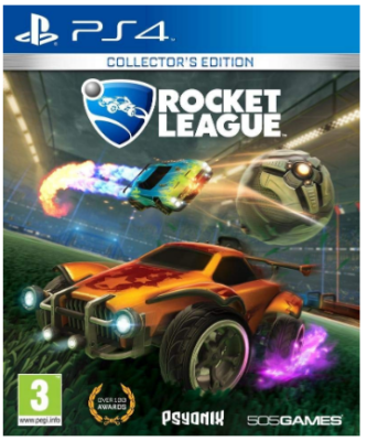 This is an image of kid's rocket league game for playstation 4