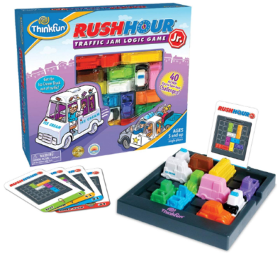This is an image of boy's logic game rush hour in colorful colors