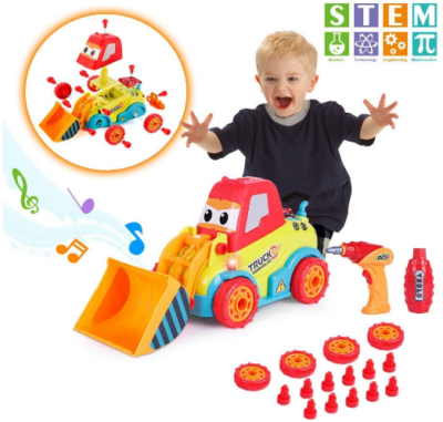This is an image of boy's STEM truck witn sounds in colorful colors
