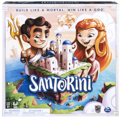 This is an image of kid's santorini strategy board game