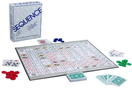 This is an image of kid's sequence board game