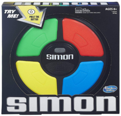 This is an image of boy's classic simon game
