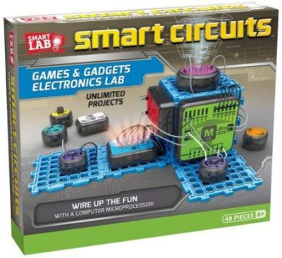 This is an image of boy's smart circuits toy in colorful colors