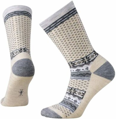 This is an image of a cabin crew socks for women by Smartwool.