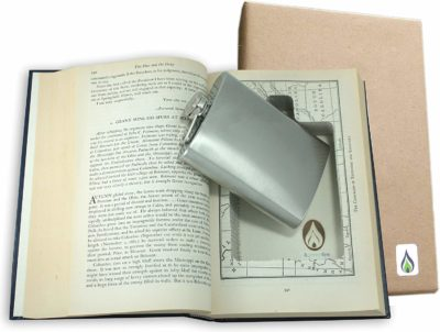 This is an image of a hidden flasks book by SneakyBooks.