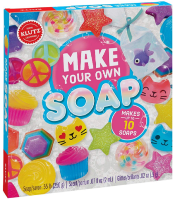 This is an image of girl's soap craft and science kit