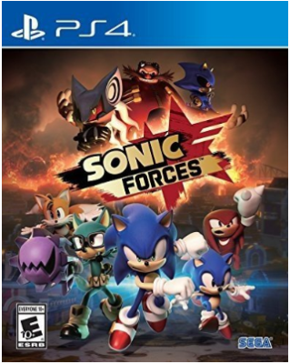 This is an image of kid's sonic force game for playstation 4