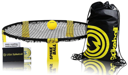 This is an image of boy's spikeball game set