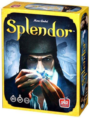 This is an image of kid's splendor board game