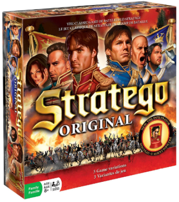 This is an image of kid's Stratego board game