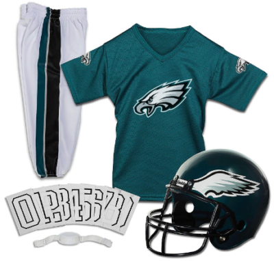 This is an image of boy's style youth uniform football american