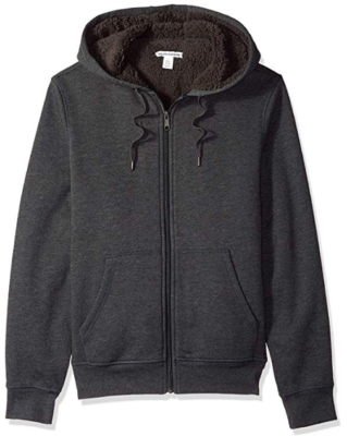 This is an image of boy's Sweatshirt in black color