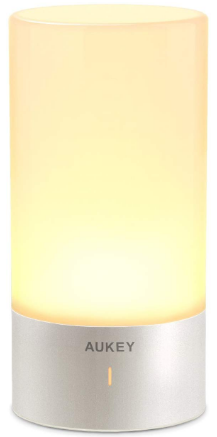 This is an image of table lamp in yellow color