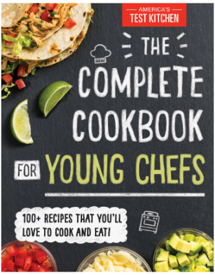 This is an image of boy's cookbook for young chefs