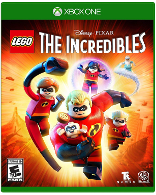 This is an image of kid's The incredibles game for xbox one