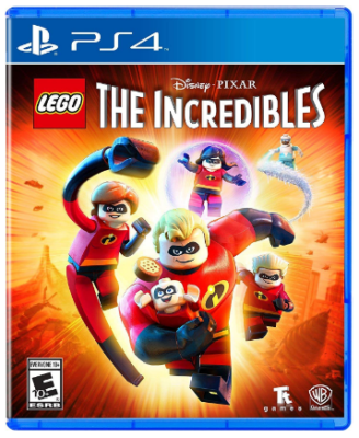This is an image of kid's The incredibles game for playstation 4