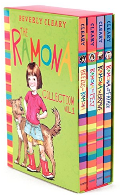 This is an image of girl's book collection Set the ramona