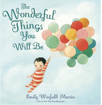 This is an image of girl's the wonderful things you will be Book