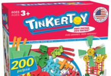 This is an image of boy's Thinker toy 30 Model building set