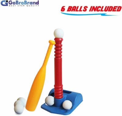 This is an image of a Tee ball set for kids by ToyVelt.
