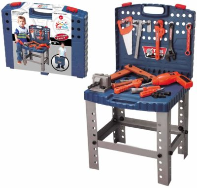 This is an image of a 68 piece construction tool kit by ToyVelt.