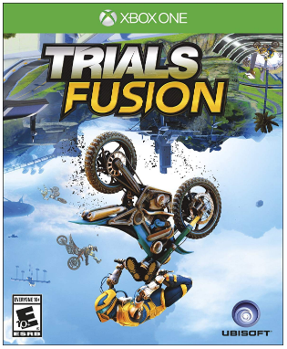 This is an image of kid's trials fusion dirt bike game for xbox one