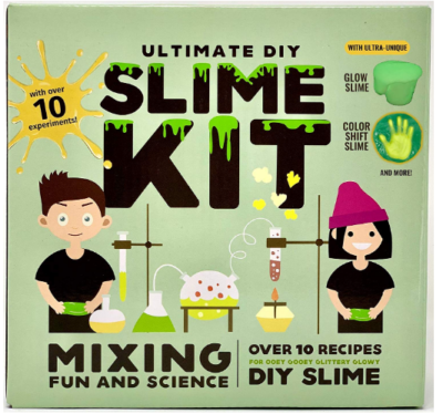 This is an image of girl's ultimate slime kit