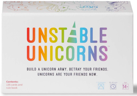 This is an image of girl's unicorn base game