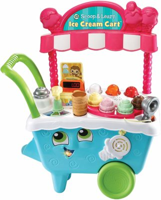 This is an image of a ice cream cart for kids by VTech.