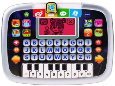 This is an image of boy's Vtech little app tablet
