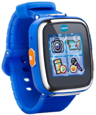 This is an image of kid's smart watch by V tech in blue color
