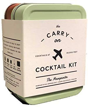 This is an image of a cocktail travel kit for men by W&P.