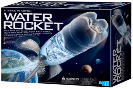 This is an image of boy's water rocket kit