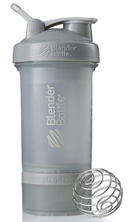This is an image of boy's water bottle in gray color