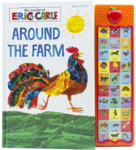 This is an image of boy's book arround the farm With Sounds