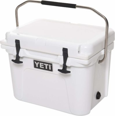 This is an image of an A1 white cooler by YETI.